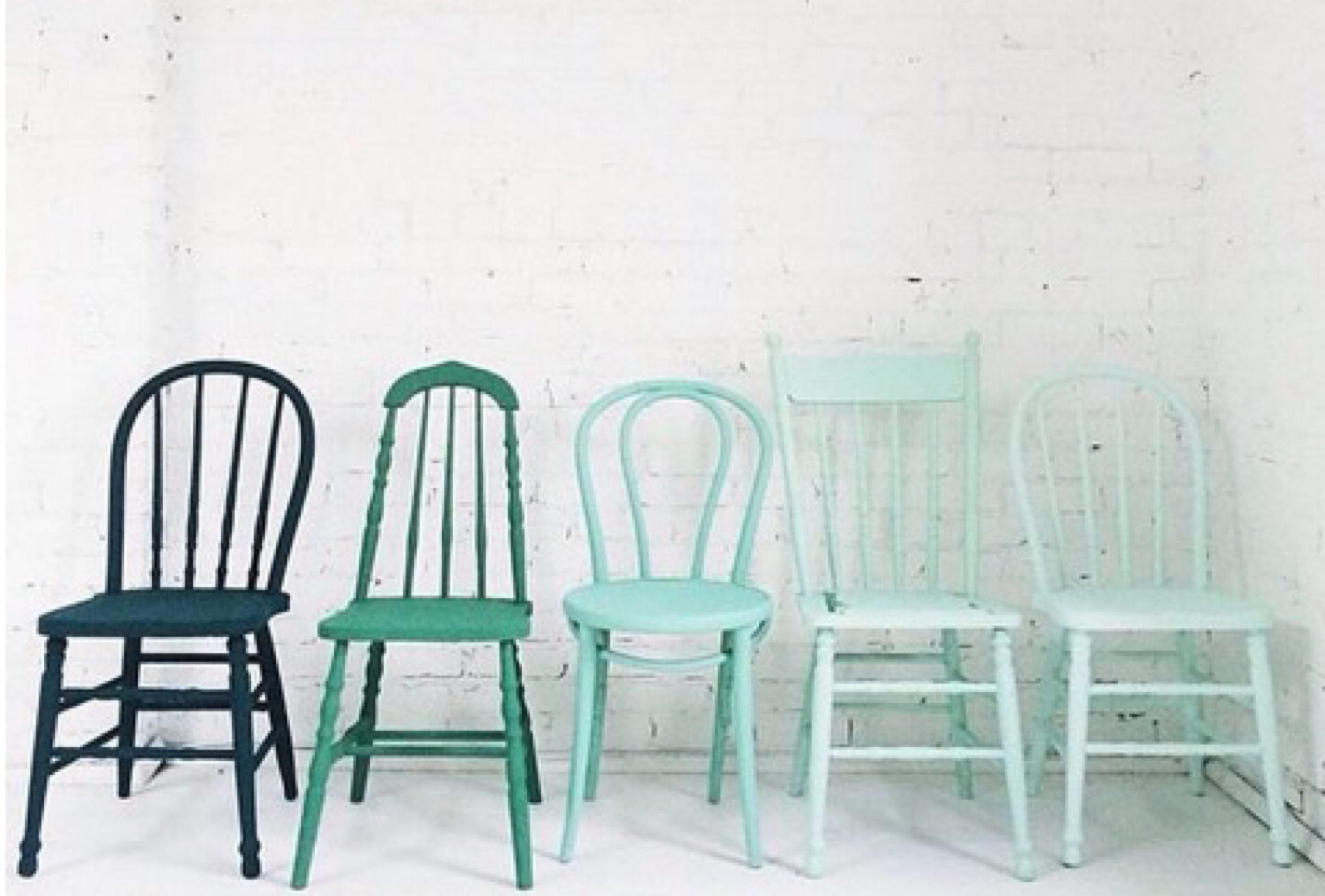 Chalk Painted Chairs Tabella Talks